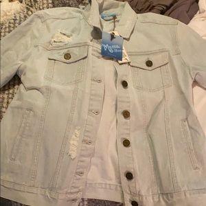 Show Me Your MuMu Jackets & Coats - Show me your Mumu Drine Denim jacket (NEVER WORN)